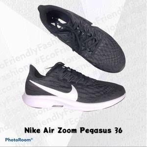 NIKE Men's Air Zoom Pegasus 36 'Black' Sneakers